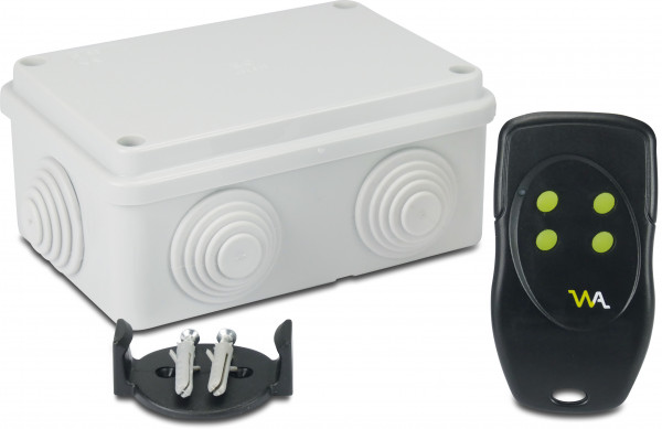 Wireless control unit for replacement LED