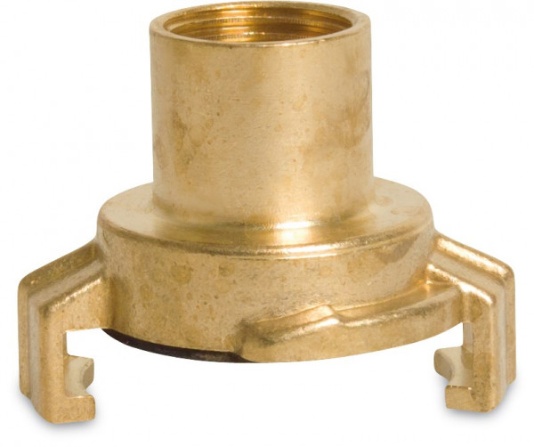 Quick coupler with long female thread