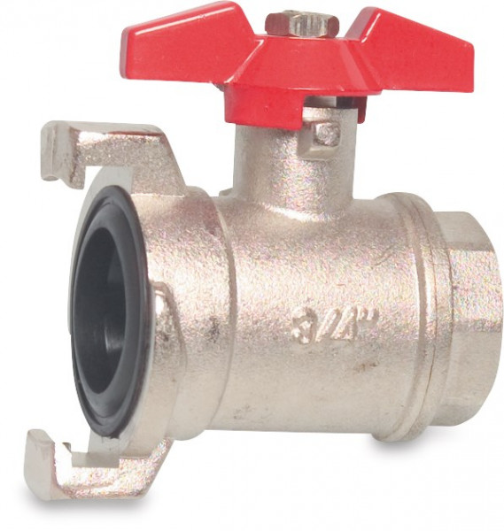 Mega Ball valve, type 590 with quick coupler
