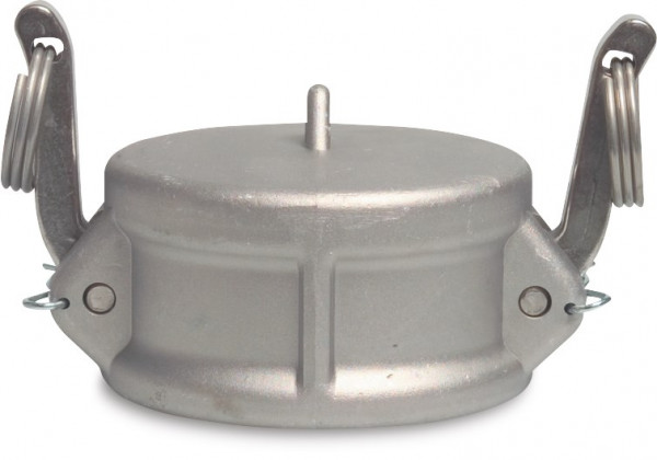 Camlock F-part with end cap, type DC
