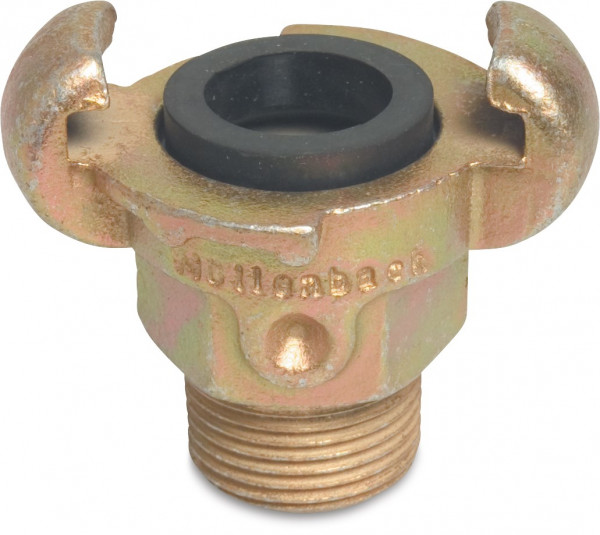Compressed air claw coupling