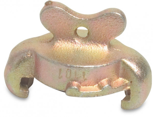 Compressed air claw end cap