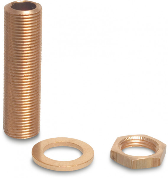 Profec Threaded end with ring and nut