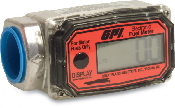 Electronic flow meter for fuel, type GPI EX
